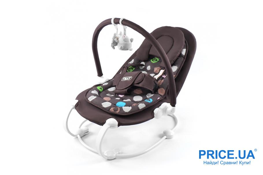 Как выбрать шезлонг-укачиватель для младенца?  Baby Tilly BT-BB-0004