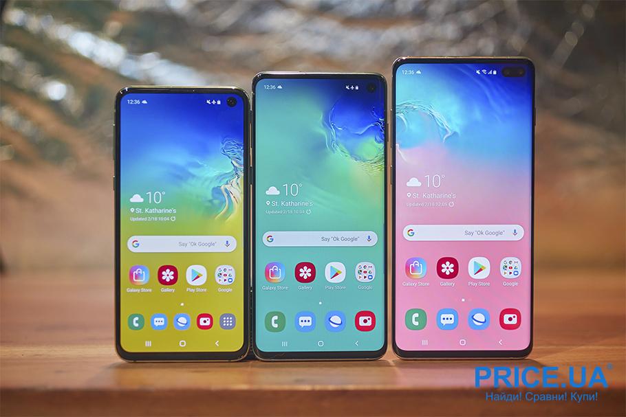 Обновления 2019: новинки от 6 производителей смартфонов. Samsung Galaxy S10