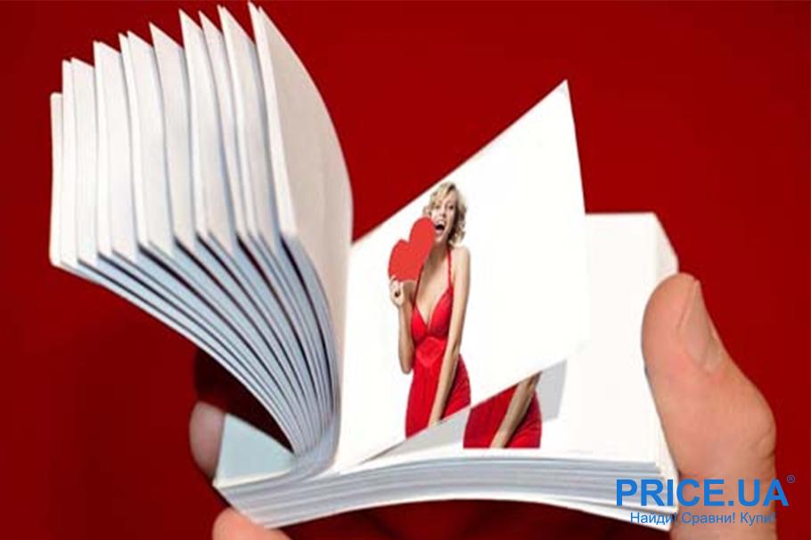 Hand-made валентинки: валентинка-флипбук