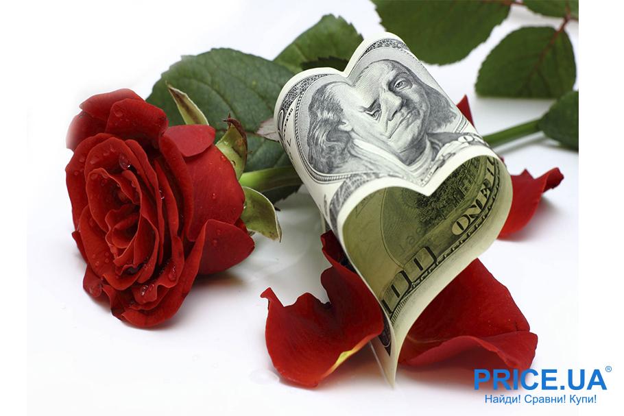 Hand-made валентинки: валентинка из купюры денег