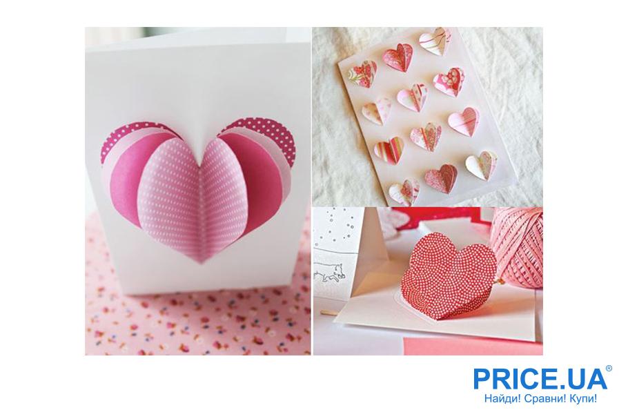 Hand-made валентинки: объемная валентинка из бумаги