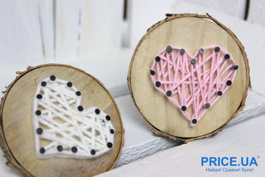 Hand-made валентинки: валентинка из дерева