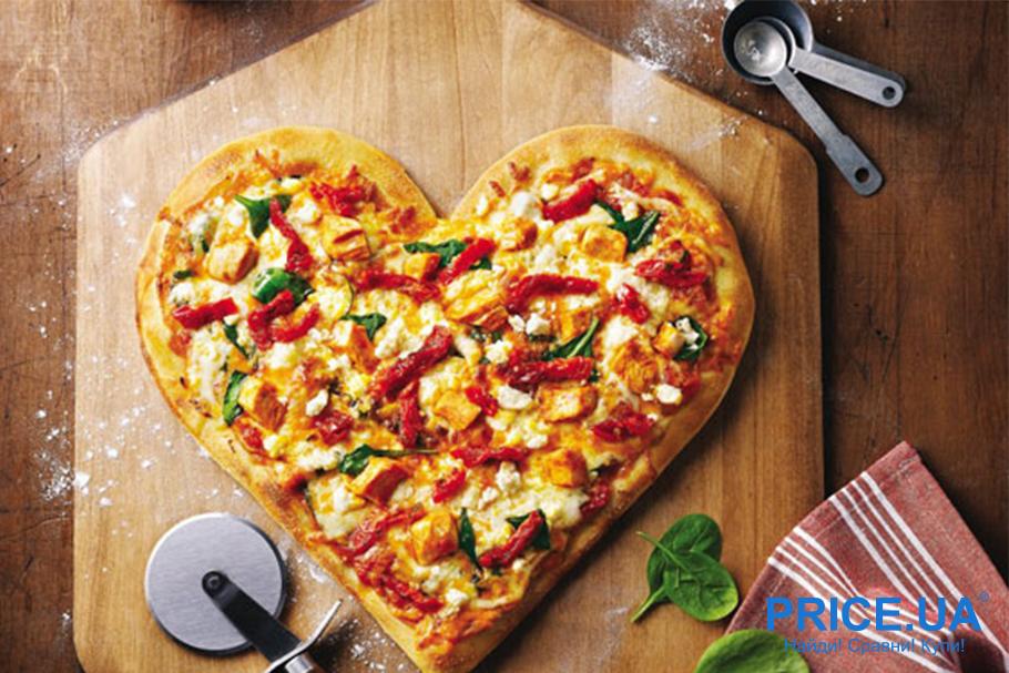 Hand-made валентинки: валентинка-пицца