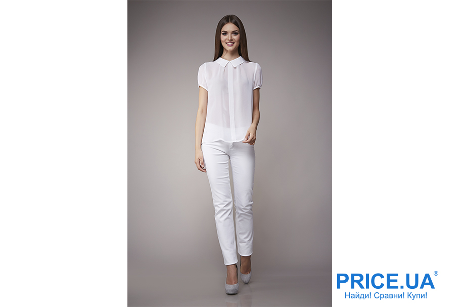 Какие джинсы купить: модные тренды весны 2019. Белые джинсы