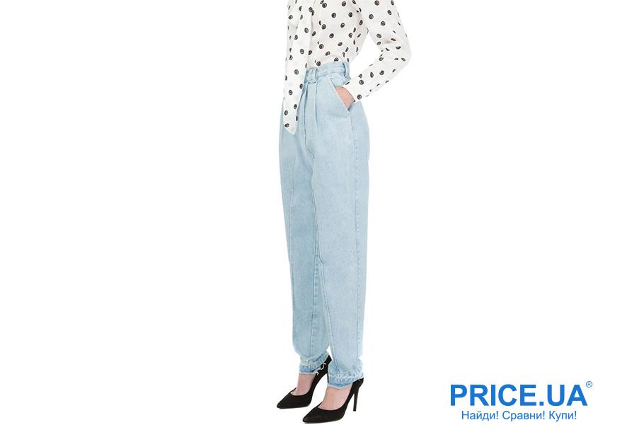 Какие джинсы купить: модные тренды весны 2019. Джинсы-бананы