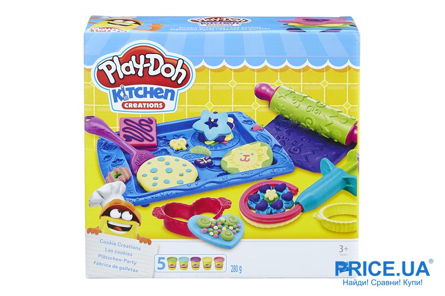 Занятие не на один час: лучшие игры для детей. Hasbro Play-Doh Магазинчик печенья