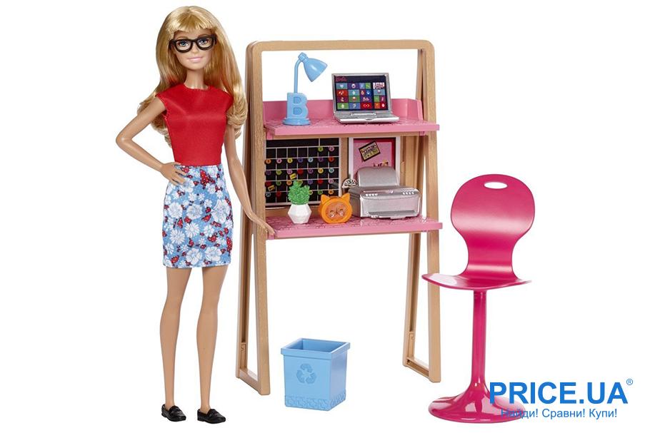 Занятие не на один час: лучшие игры для детей. Набор мебели с куклой Barbie