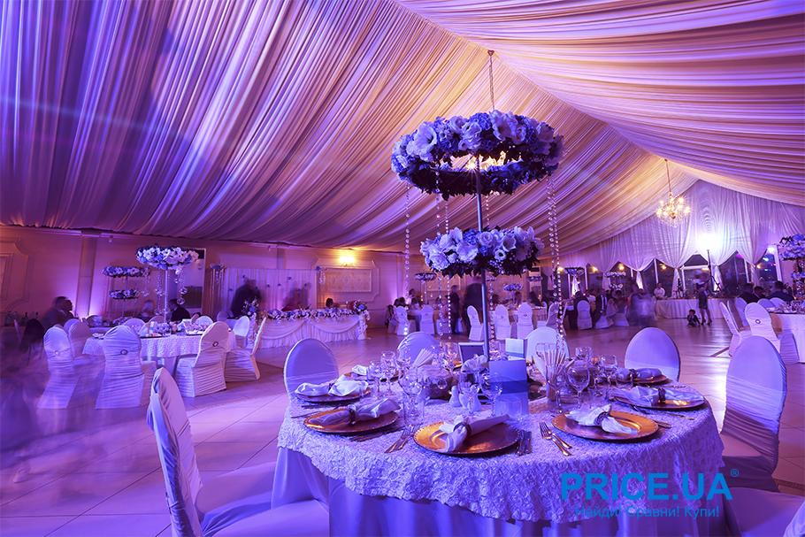 Трендовые оформления свадьбы 2019. Ультрафиолет