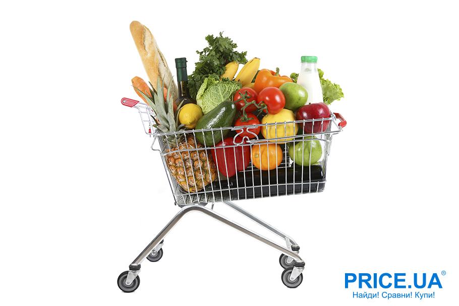 Советы, как начать есть здоровую пищу. Ревизия корзинки в супермаркете