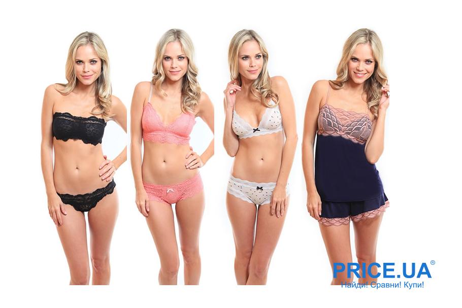 Нижнее белье для возлюбленной к 8 марта: виды моделей