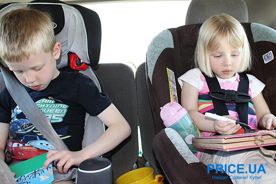 Советы для путешествующих: чем заняться в дороге. Дети
