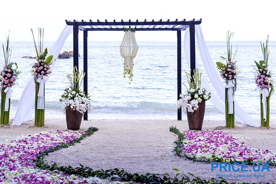 В чем прелесть выездной свадьбы?
