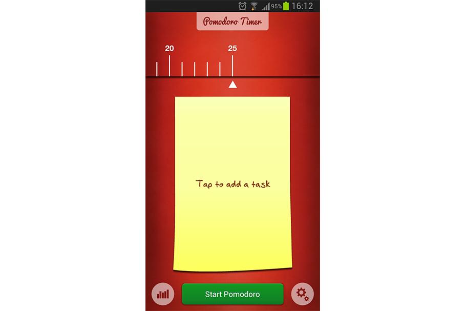 Лучшие приложения по организации времени. Pomodoro Timer Lite