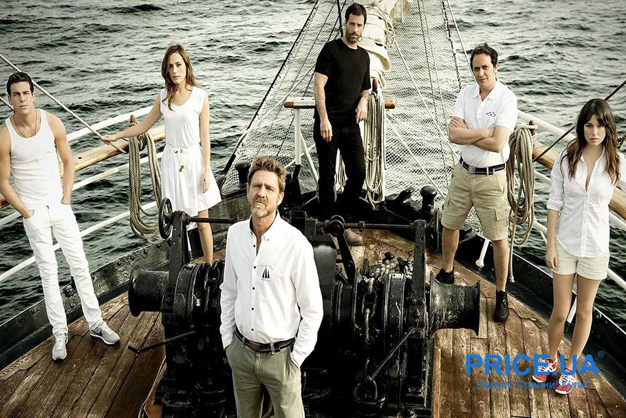 Пять лучших испанских сериалов про подростков. Ковчег (El Barco, 2011)