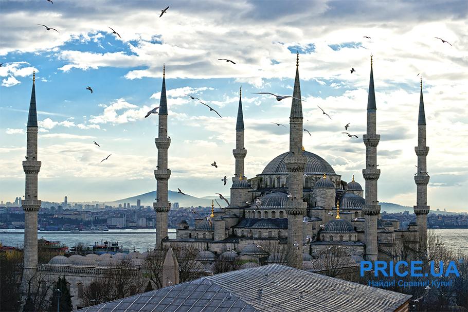 Путешествие на выходных: топ-10 мест.  Стамбул