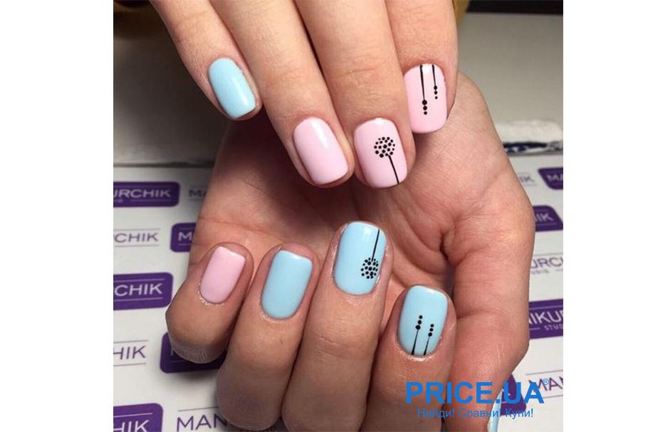 Весенний дизайн ногтей: что в топе? Минимализм