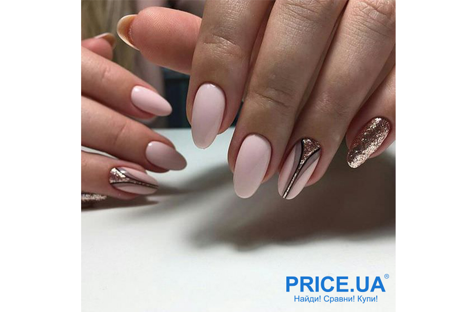 Весенний дизайн ногтей: что в топе?  Романтик + золото