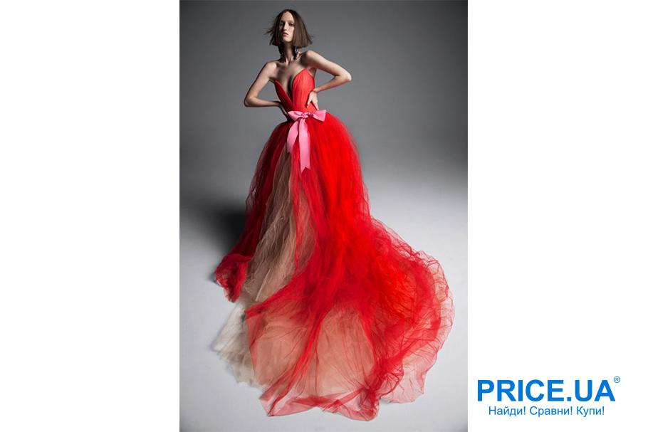 Свадебная мода 2019: тренды. Цветые платья