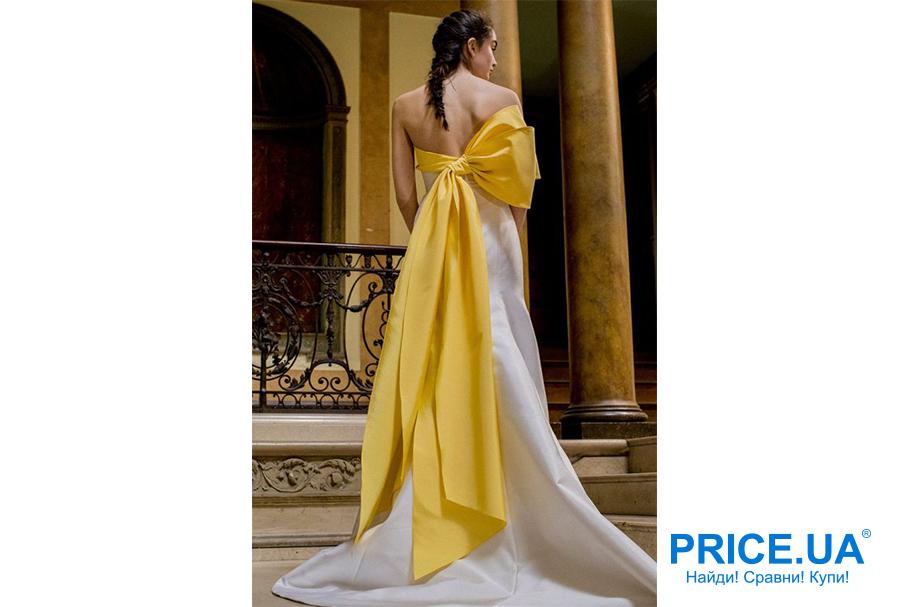 Свадебная мода 2019: тренды. Банты в декоре