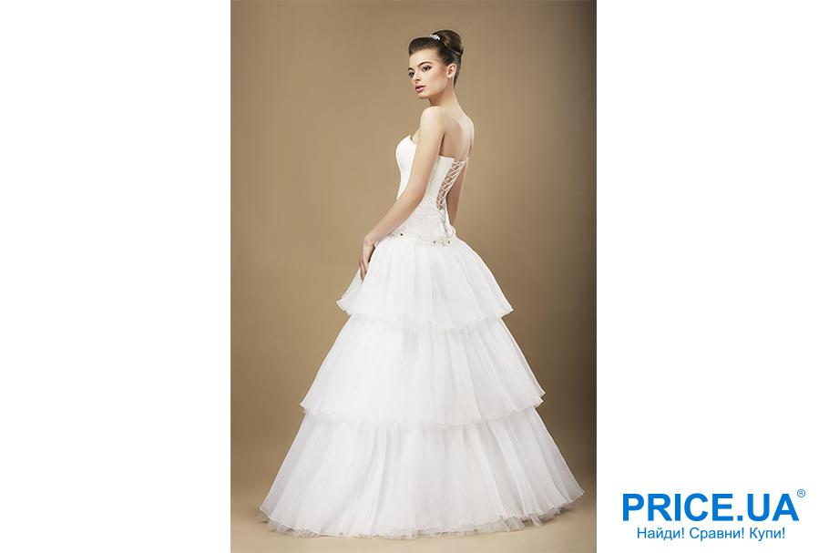 Свадебная мода 2019: тренды. Многоярусное платье