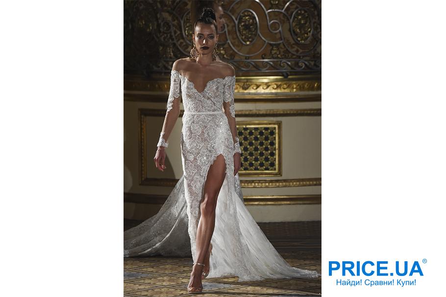 Свадебная мода 2019: тренды. Платье с разрезом