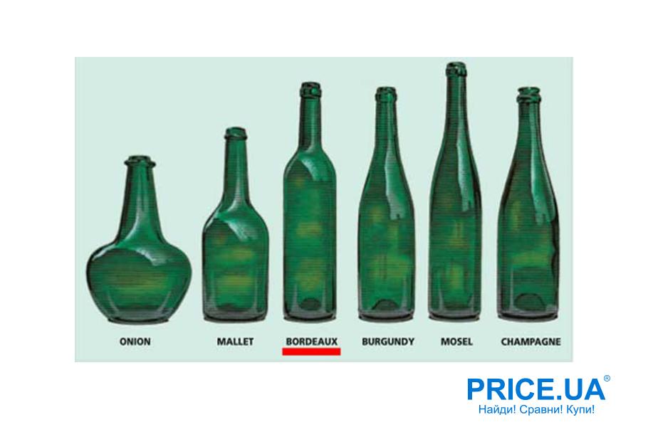 Как выбрать хорошее вино на 8 марта.  Форма бутылки