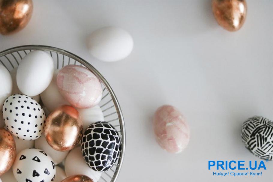 Яйца на Пасху: креативный декор. Мерцание и перламутр