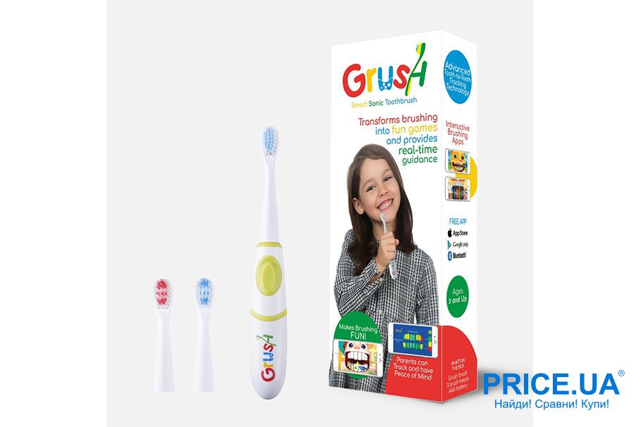 Интересные и необычные подарки для ребенка. Смартщетка для зубов