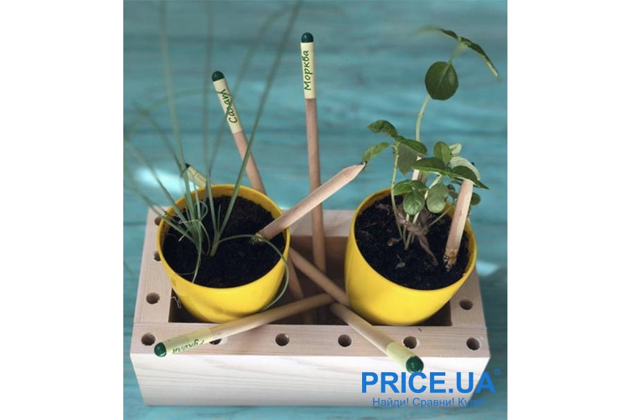 Интересные и необычные подарки для ребенка. Растущий карандаш Brinjal Product EcoStick