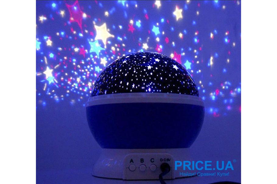 Интересные и необычные подарки для ребенка. Проектор звездного неба