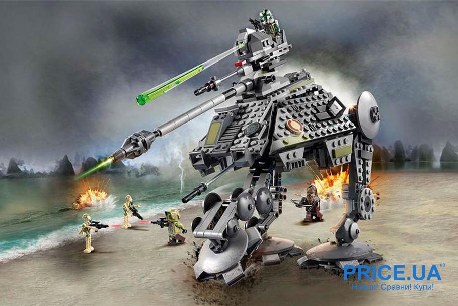 Выбрать конструктор LEGO: лайфхак. LEGO Star Wars «Шагоход-танк АТ-AP»