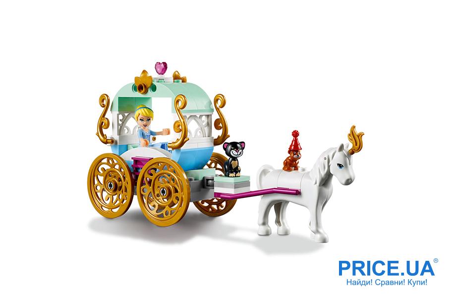 Выбрать конструктор LEGO: лайфхак. LEGO Disney Princess «Золушка в карете»