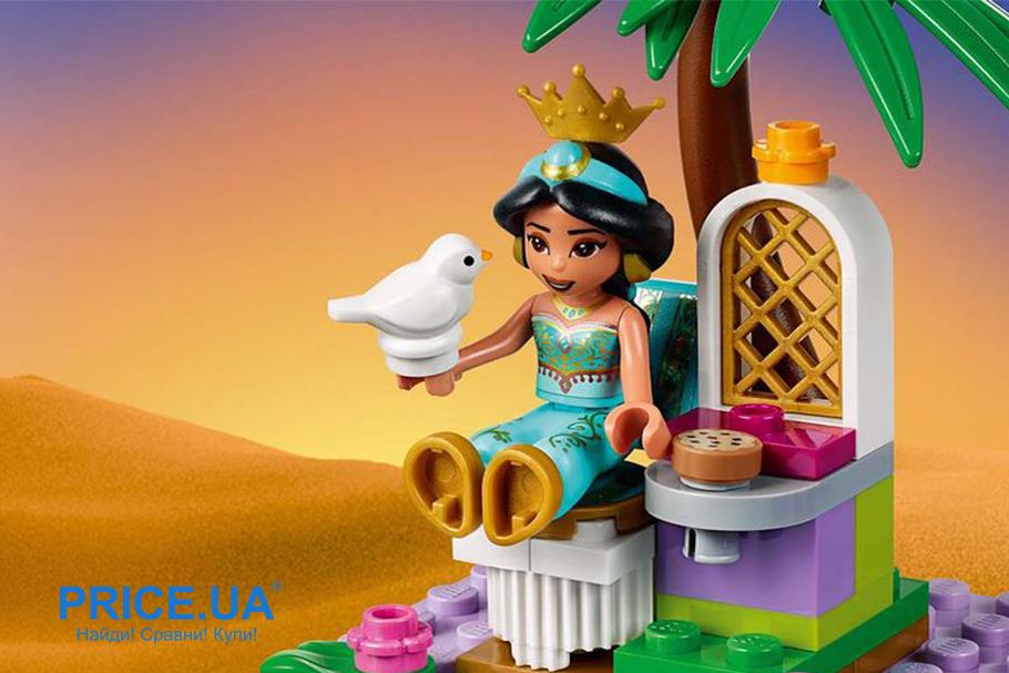 Выбрать конструктор LEGO: лайфхак.LEGO Disney Princess «Приключения во дворце Аладдина и Жасмин»