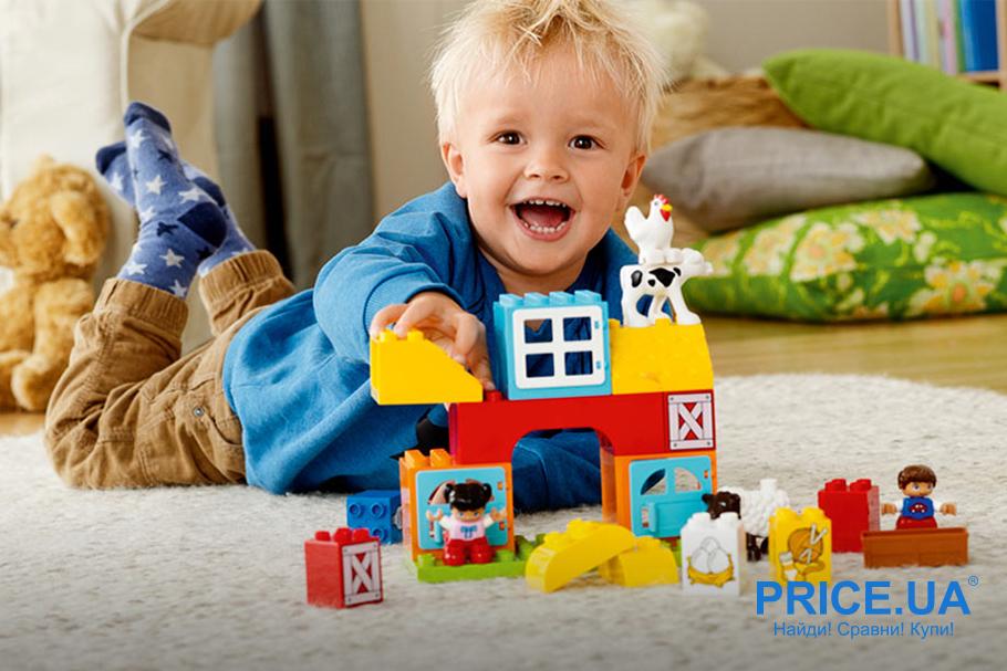Выбрать конструктор LEGO: лайфхак. На 1-2 года