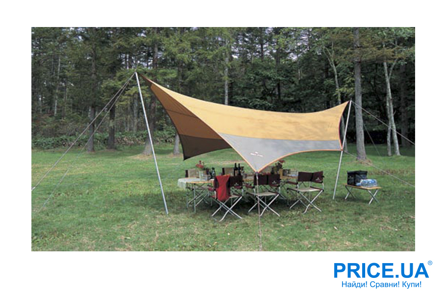 Топ нужных товаров для пикника на Price.ua. Тенты