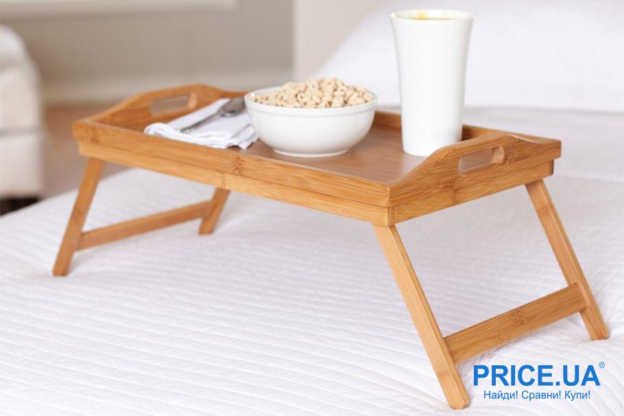 Как сделать столик для завтраков собственными силами?