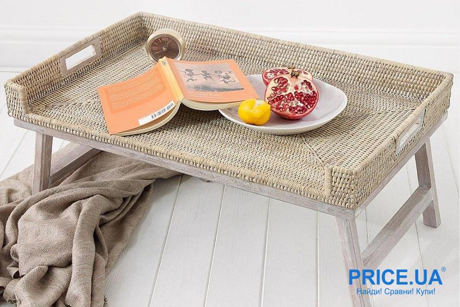 Как сделать столик для завтраков собственными силами. Выбор стиля и дизайна