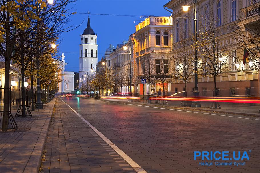 Топ мест, куда можно отправиться на майские. Вильнюс