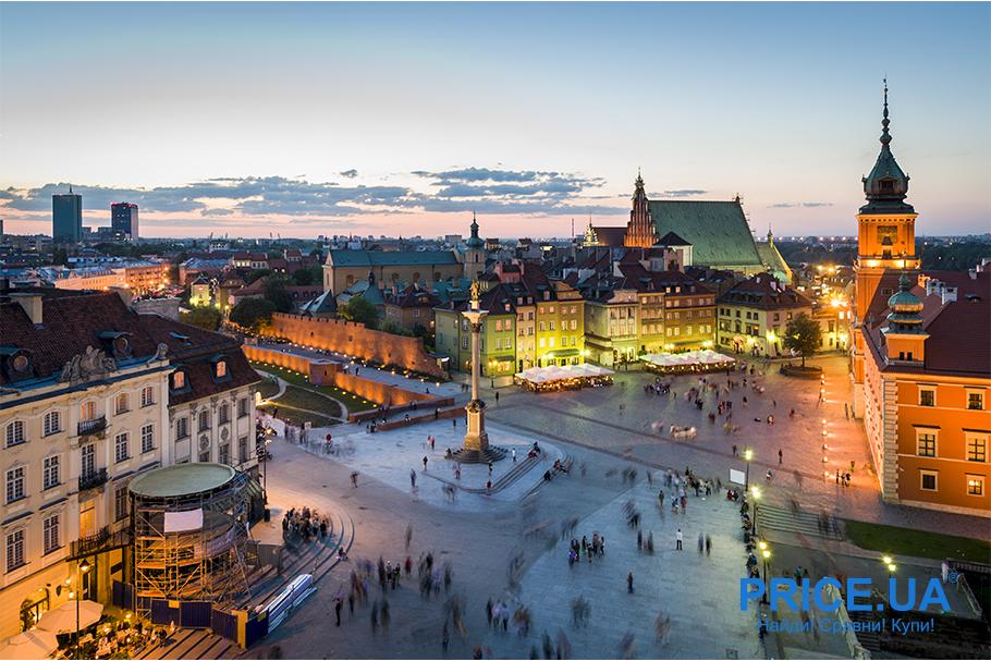 Топ мест, куда можно отправиться на майские. Польша-Чехия