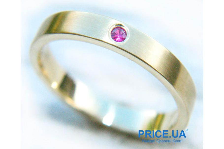Кольца на свадьбу: тренды свадебной моды 2019. Кольца с цветными камнями
