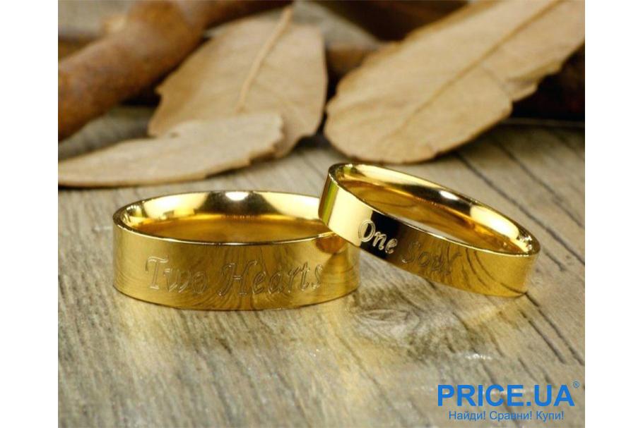 Кольца на свадьбу: тренды свадебной моды 2019. Гравировка