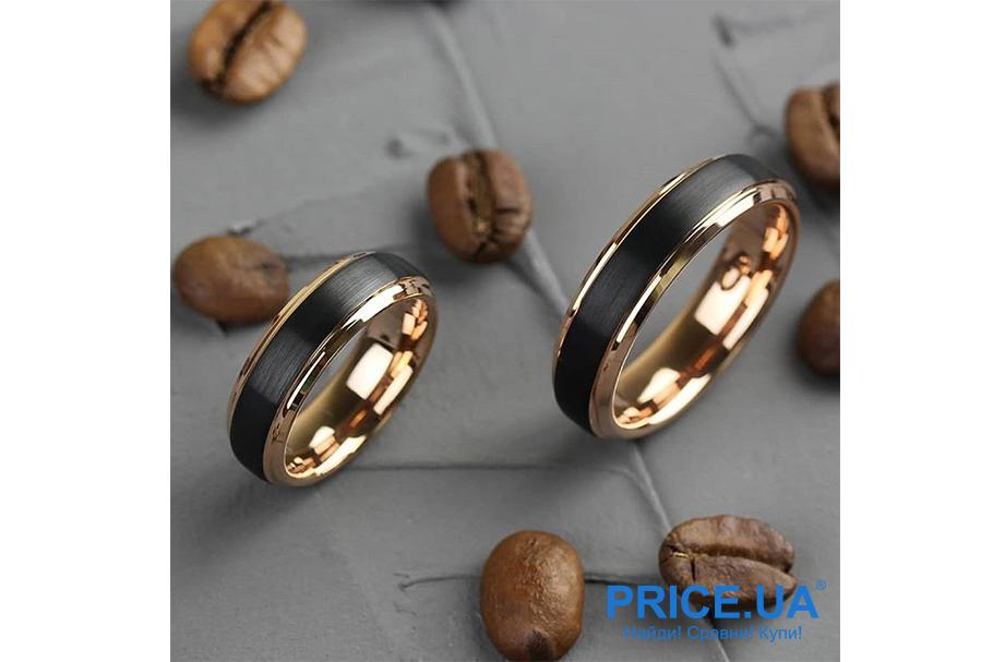 Кольца на свадьбу: тренды свадебной моды 2019. Кольца из черного золота