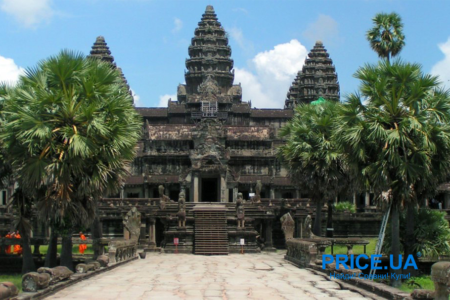 Поездка в Камбоджу: чем хороша страна?Ангкор-Ват