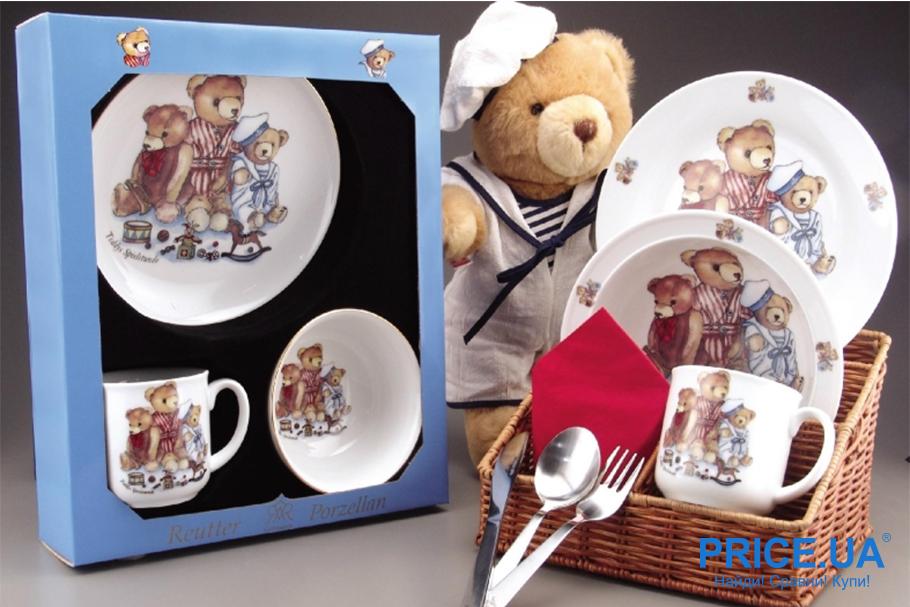 Какая посуда для ребенка - самая безопасная? Фарфор - это хорошо