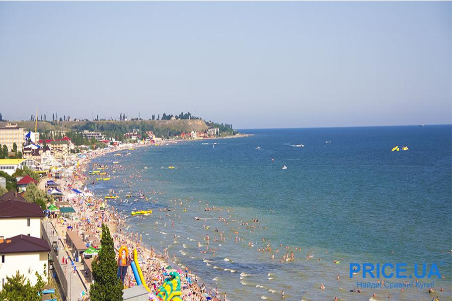 Топ лучших пляжей Украины. Коблево