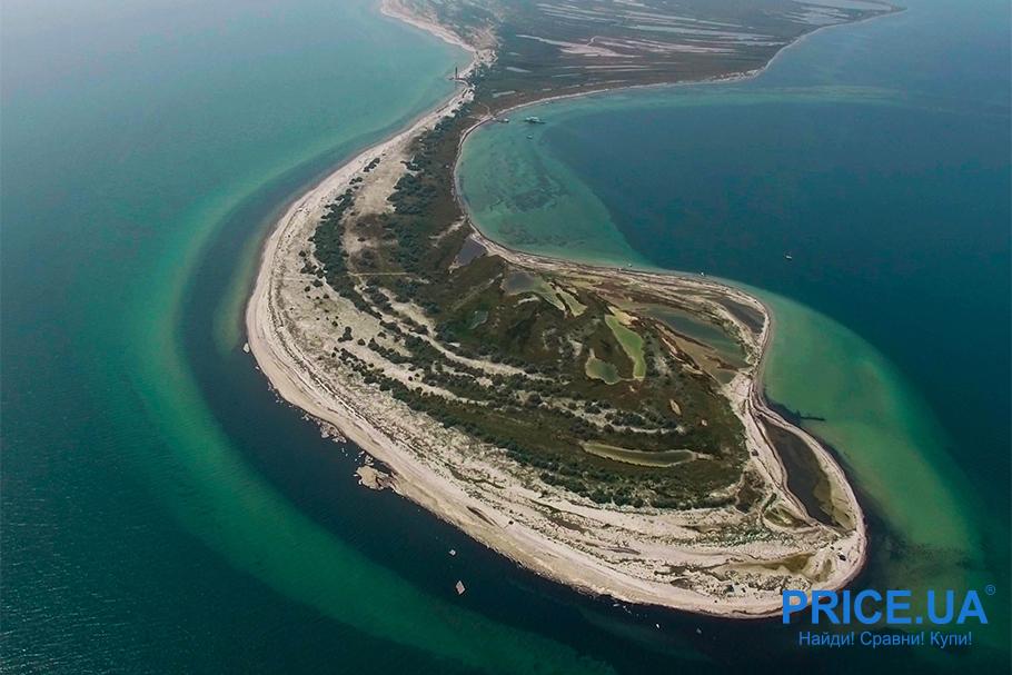 Топ лучших пляжей Украины. Джарылгач