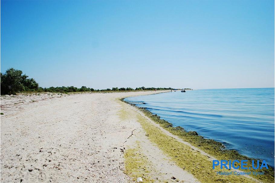 Топ лучших пляжей Украины. Скадовск