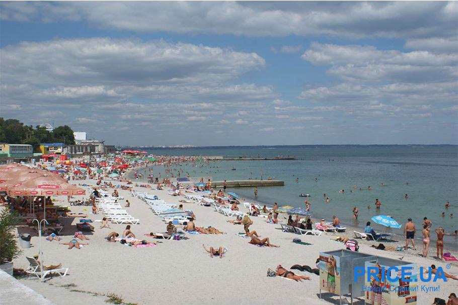 Топ лучших пляжей Украины. Ланжерон
