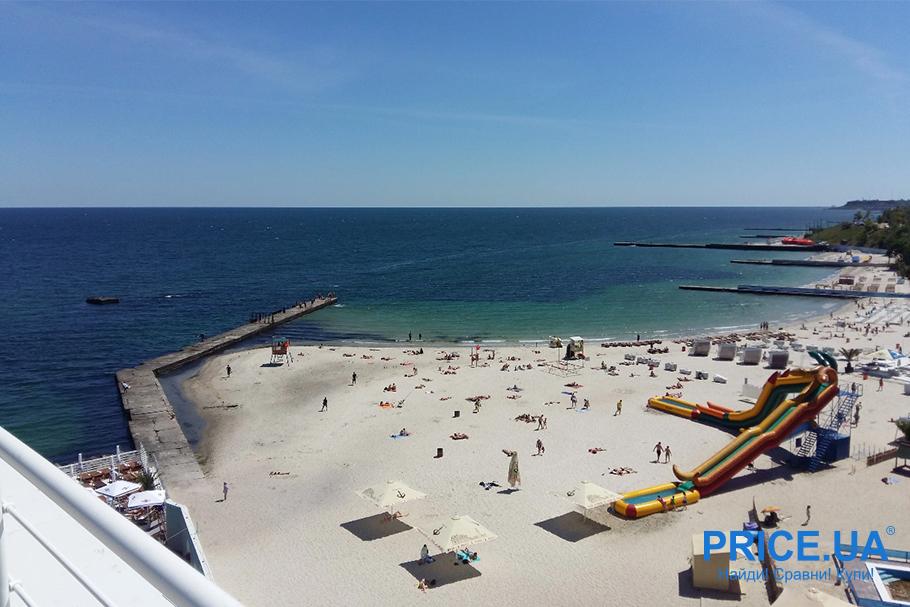 Топ лучших пляжей Украины. Большой фонтан