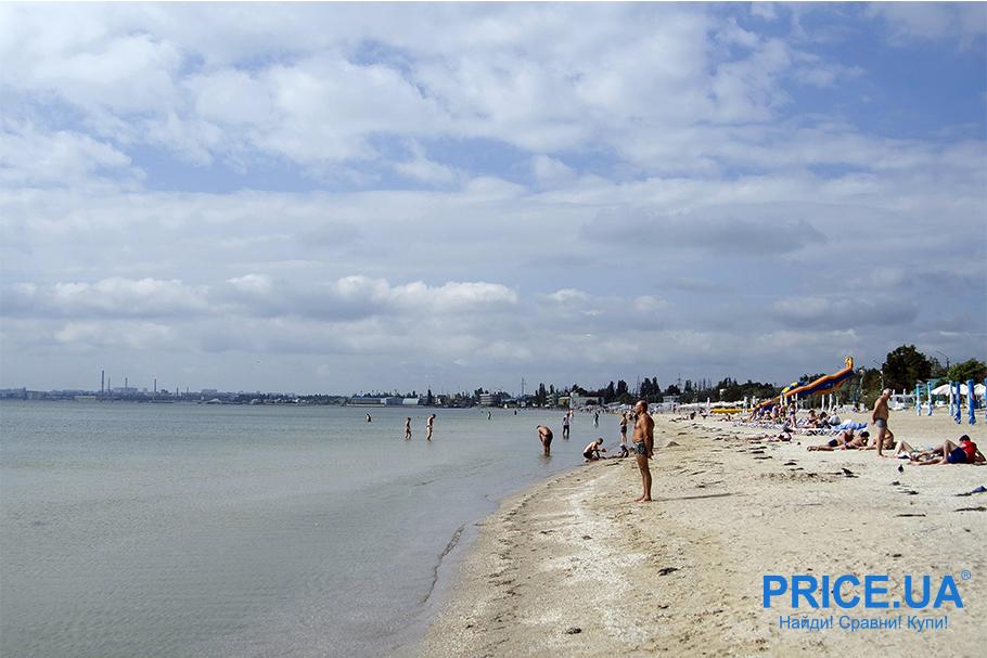 Топ лучших пляжей Украины. Лузановка
